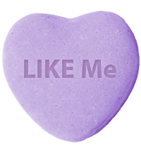 LIKE Me Gift on QuiBids for Share the Love Promo