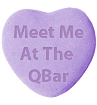 Meet Me At The QBar Gift on QuiBids for Share the Love Promotion