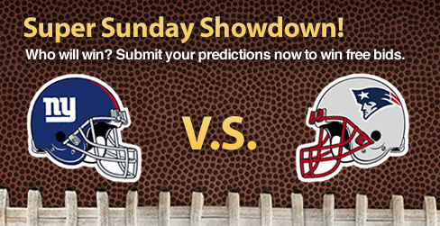 Super Bowl Sunday Showdown Vote