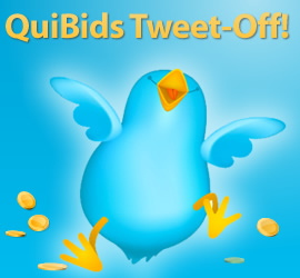 QuiBids Twitter Competion March 2012