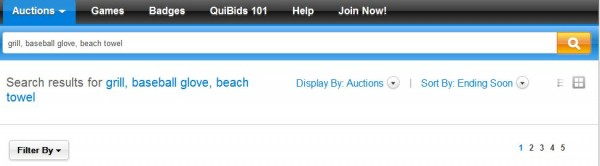 search on quibids