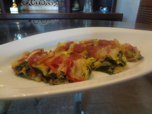 Bacon Spinach Mil F