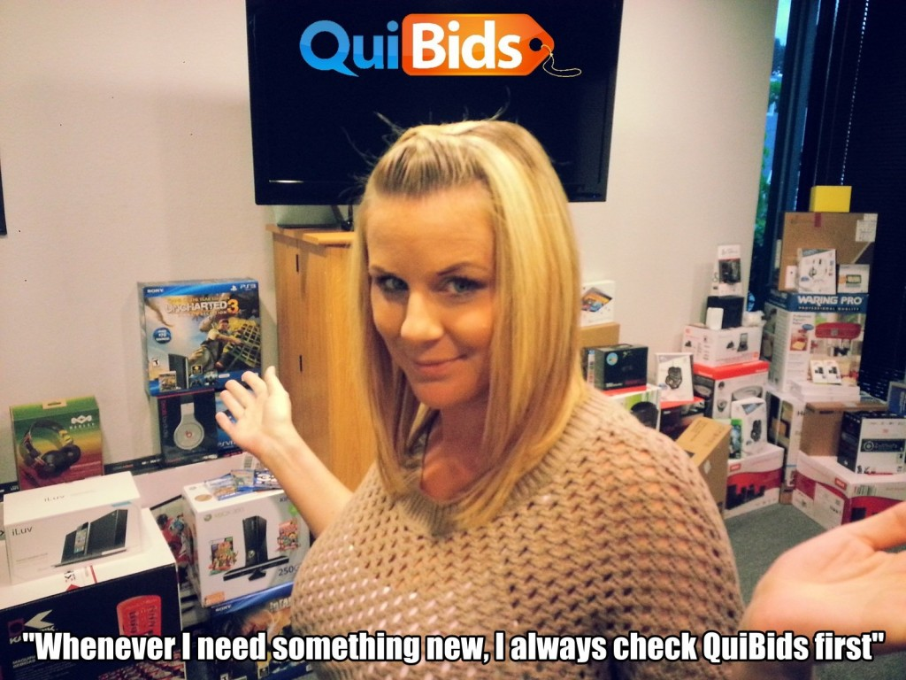 QuiBids QuiBidder of the Week, Carrie G.