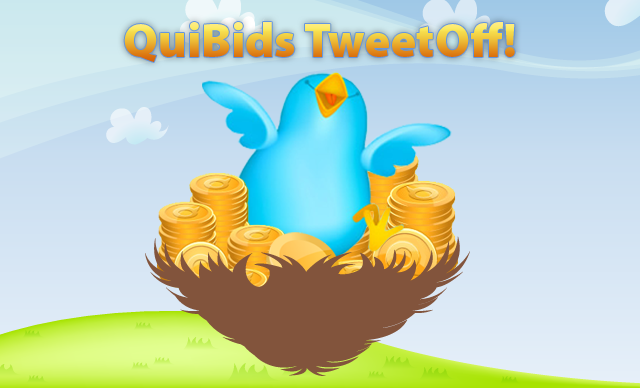 QuiBids Tweet-Off