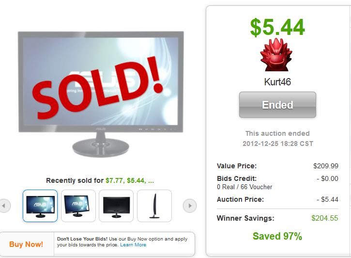 2 asus vs248h monitor quibids deal