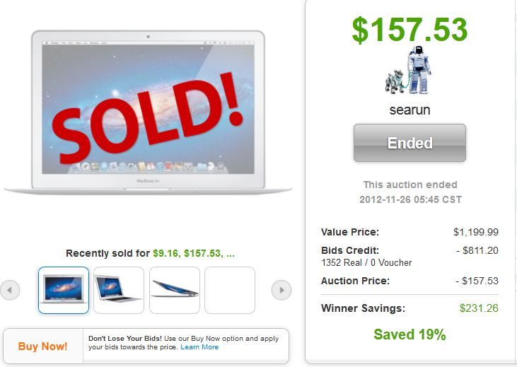 macbook air quibids win huge