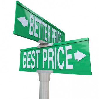 Better and Best Price - Two-Way Street Sign