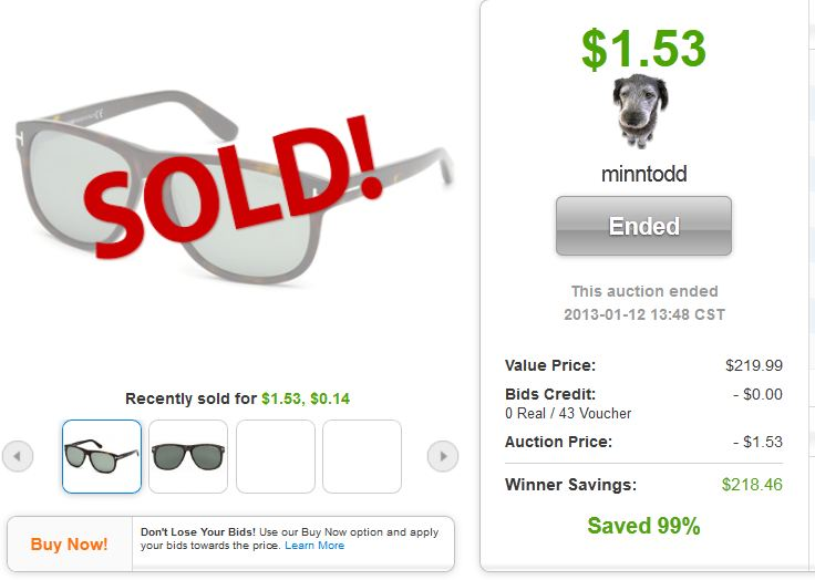 tom ford olivier sunglasses quibids legit deal
