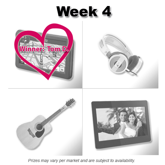 Vote with your Heart Sweepstakes - Week 4 Winner | QuiBids
