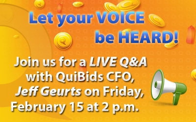 quibids jeff geurts live chat