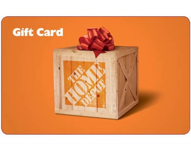 QuiBids Home Depot Gift Card