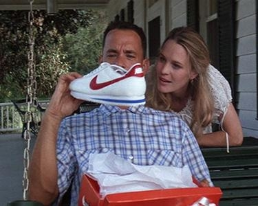 QuiBids auction forrest gump runing shoes