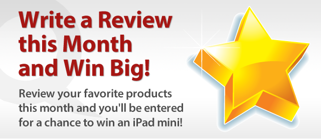 Write a prodcut review on QuiBids and win big!