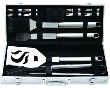 QuiBids auctions Cuisinart Deluxe Grill Set