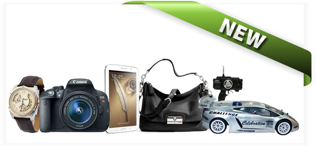New Products on QuiBids US for the week of May 17, 2013