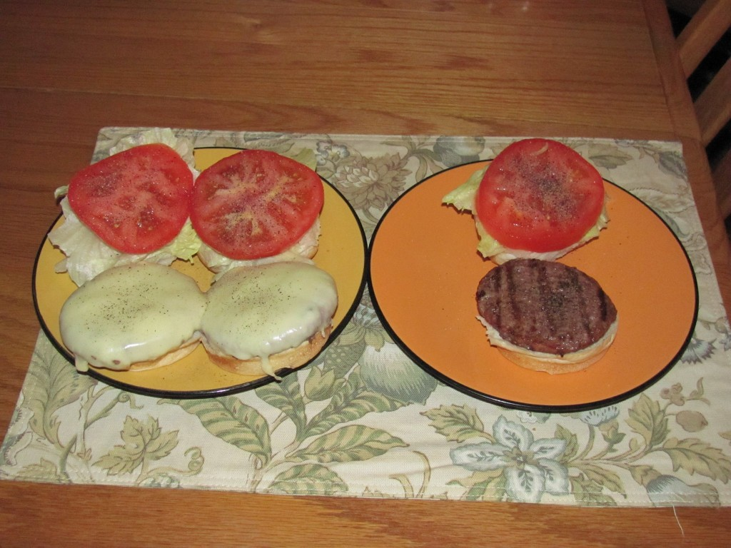 Colleen couldn't wait to return from vacation to try the Omaha Meats burgers she won on QuiBids.  She loved them and ended up posting this photo on Facebook to share.