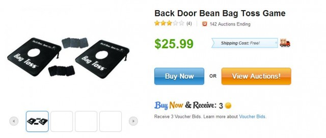 Back Door Bean Bag Toss