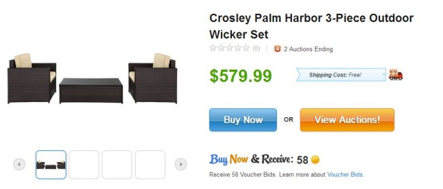 Crosley Palm Harbor Wicker Set