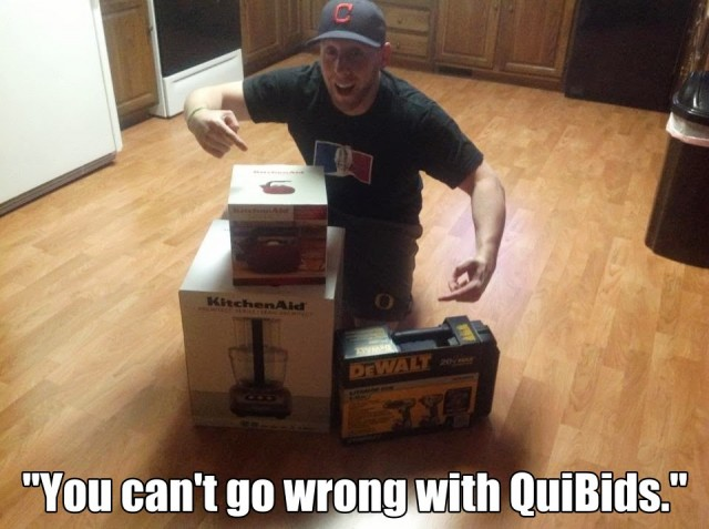 QuiBids' QuiBidder of the Week for the Week of July 8, 2013 - Trevor A.