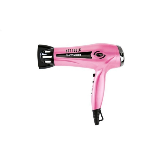 Pink professional hairdryer on QuiBids
