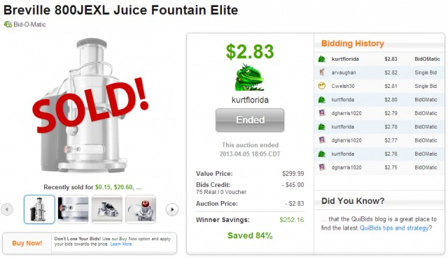 Great deal on a juicer