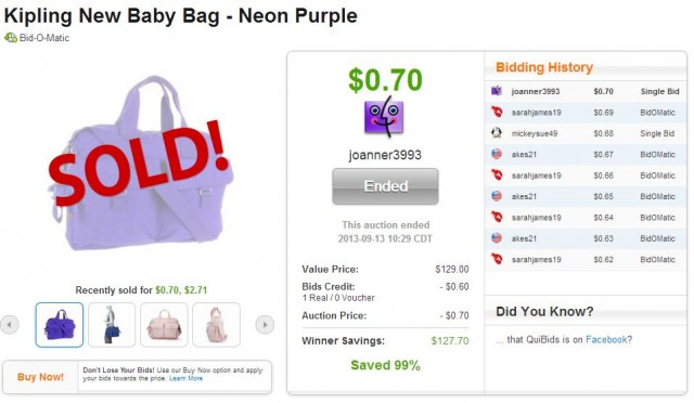 great deals on kipling bag