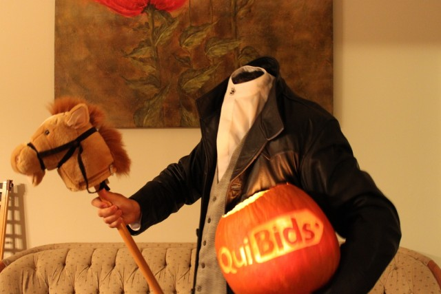 QuiBids Headless Horseman Halloween Costume