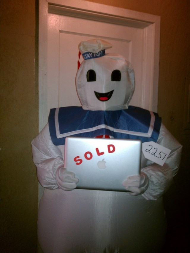 Stay Puft Marshmallow QuiBidder