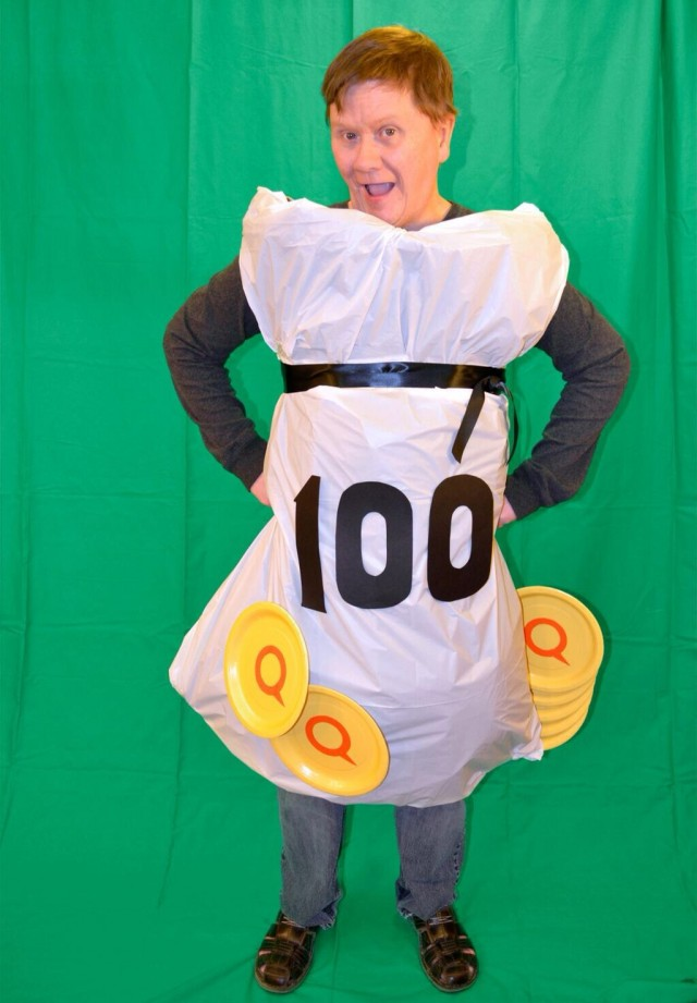 Dress Like QuiBids halloween photo contest 100 voucher bid pack