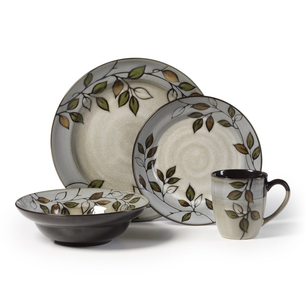 Attractive Pfaltzgraff Patio Garden 16 Piece Dinnerware Set