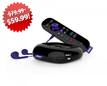 Roku 2 Streaming Player Black Friday Deal on QuiBids