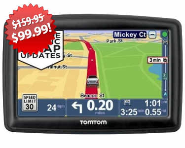 TomTom GPS Navigator Black Friday Deal on QuiBids