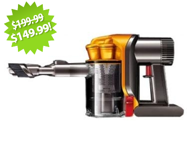 Dyson DC34 Vacuum 2013 Cyber Monday Deal on QuiBids