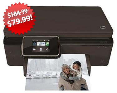 HP Color Photo Printer Scanner Copier Black Friday deal on QuiBids