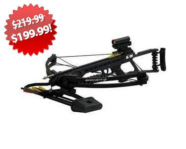 Barnett Crossbow Package 2013 Black Friday Deal on QuiBids
