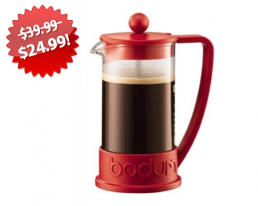 French Press Coffee Maker 2013 Black Friday Deal on QuiBids