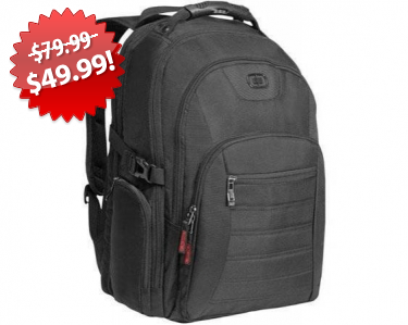 Ogio Urban Laptop Backpack Black Friday 2013 Deal on QuiBids