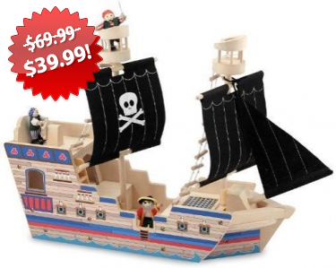 Deluxe Pirate Ship Play Set 2013 Black Friday Deal on QuiBids