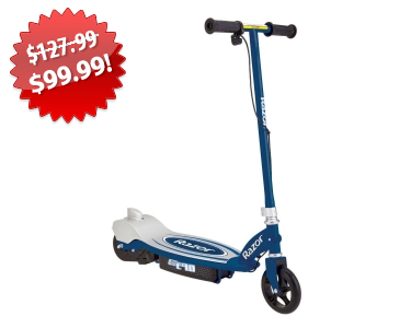 Razor Electric Scooter 2013 Black Friday Deal on QuiBids