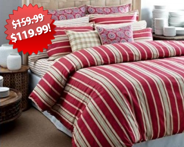 Tommy Hilfiger Comforter Set 2013 Black Friday Deal on QuiBids
