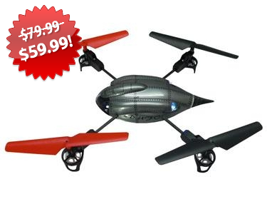 Odyssey Flying Machines Quadcopter 2013 Black Friday Deal on QuiBids