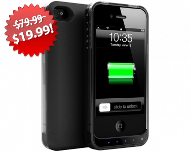 iPhone Battery Case Black Friday 2013 Deal on QuiBids