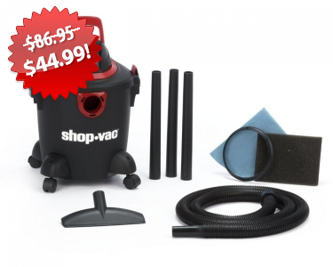 ShopVac Wet/Dry Vacuum 2013 Black Friday Deal on QuiBids
