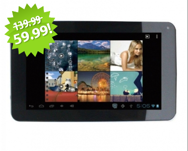 "Iview 7"" Android Tablet 2013 Cyber Monday Deal on QuiBids"