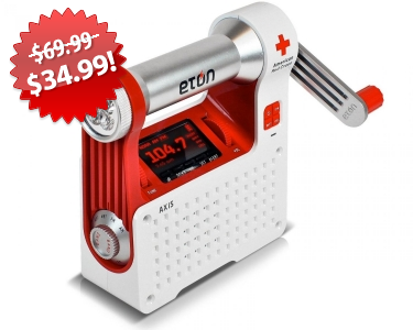 Red Cross Weather Radio Black Friday 2013 Deal on QuiBids