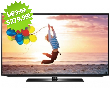 "Samsung 32"" LED 1080p HDTV 2013 Cyber Monday Deal on QuiBids"