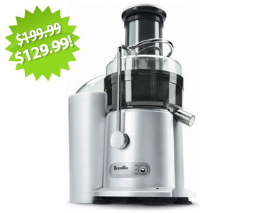 Breville Fountain Juicer 2013 Cyber Monday Deal on QuiBids