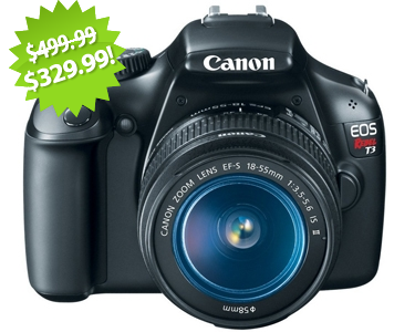 Canon Camera 2013 Cyber Monday Deal on QuiBids