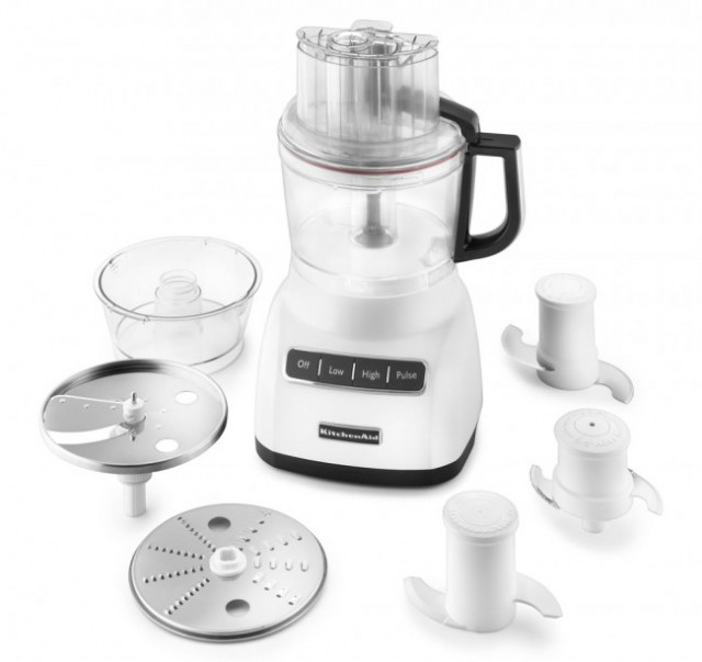 KitchenAid food processor on QuiBids