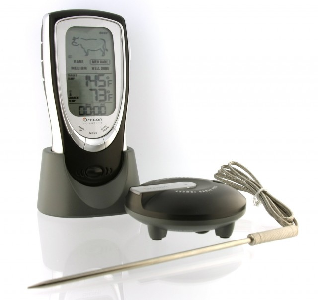 scientific talking grill thermometer on QuiBids